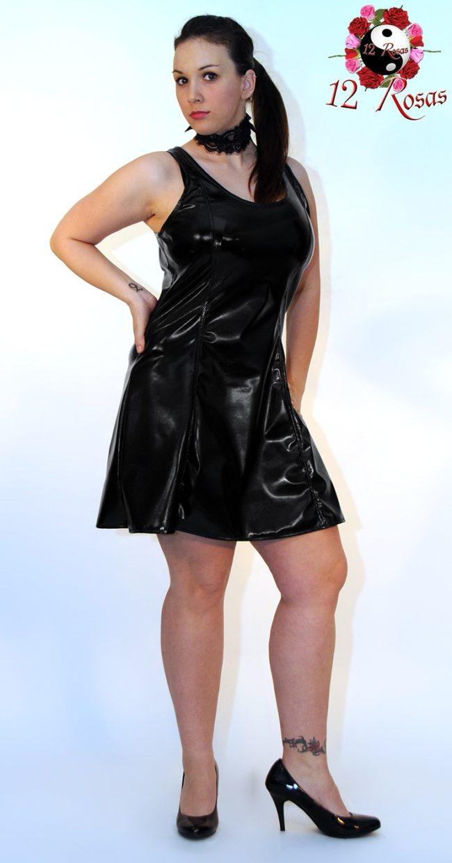 Vestido Rosan Negro