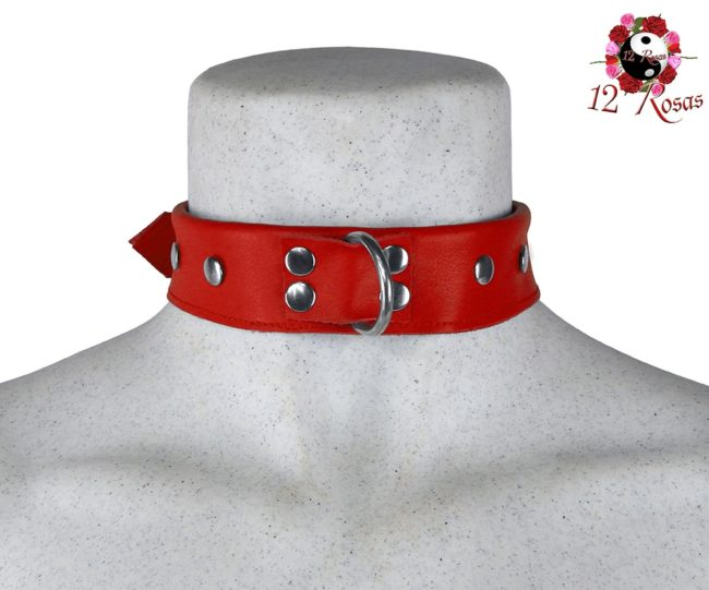 Collar Maximum Rojo Frontal 3