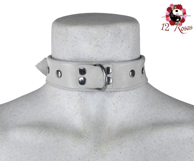 Collar Maximum Blanco Frontal 3
