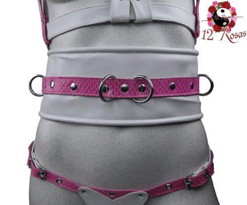 Cinturón ancho Barbie Frontal