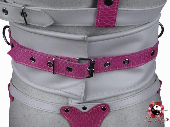 Cinturón ancho Barbie trasero