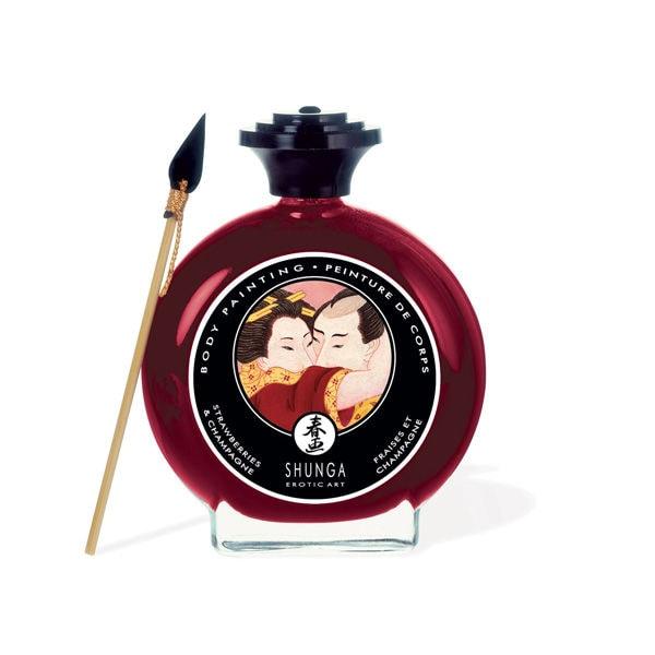 Body Paint Shunga Fresas