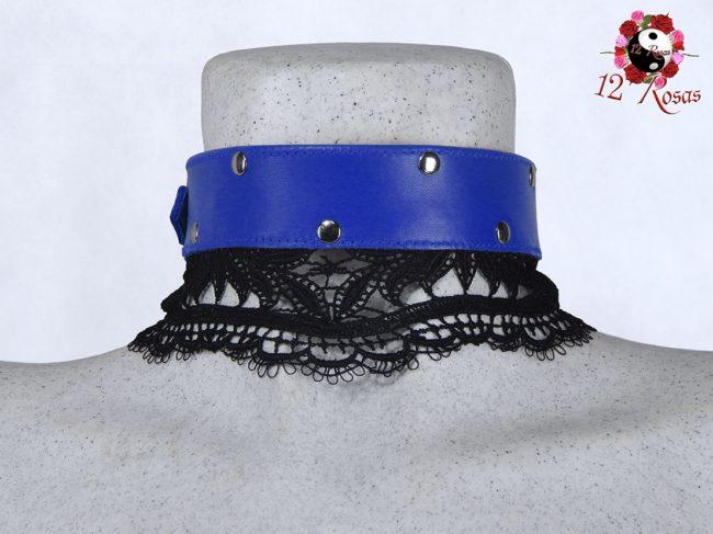 Collar Diana Azul