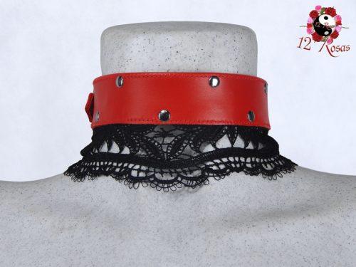 Collar Diana Rojo