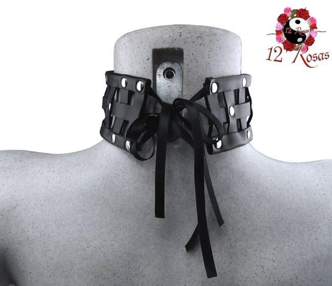 Collar Iris Negro Rear