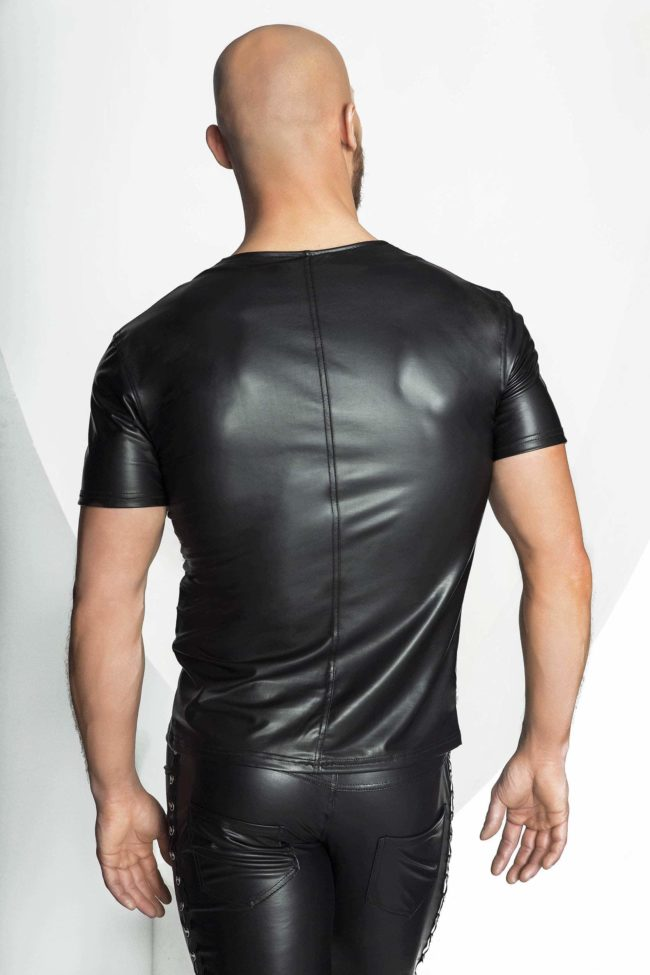 H029 Camiseta wetlook BACK