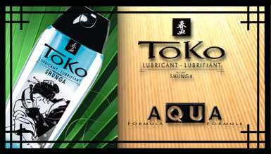 Lubricante Toko Aqua