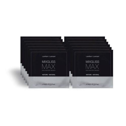 mixgliss pack de 12 monodosis lubricante anal max