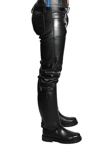 Jeans Cuero Side