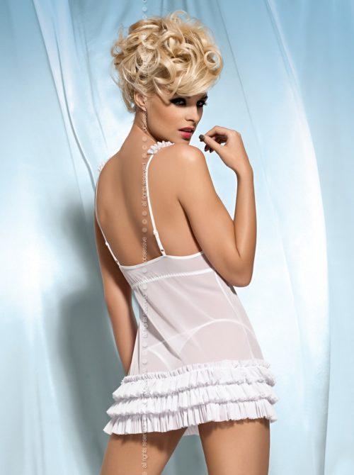 kalia babydoll white back