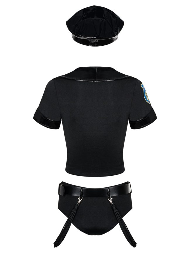 POLICE SET back