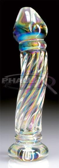 Dildo Cristal Quirúrgico Pearlescent